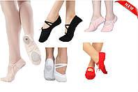 Балетки чешки обувь для танцев, хореографии, танцевальные туфли. Обувь для танцев и гимнастки