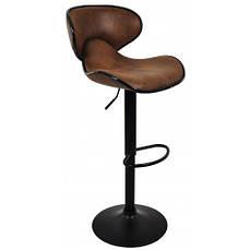 Барний стілець зі спинкою Bonro HB-678 коричневе