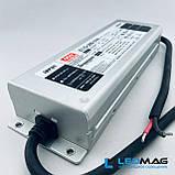 Блок питания для светодиодной ленты 24В 300Вт герметичный MEANWELL ELG-300-24. Блок питания 300W 24V, фото 4