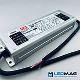 Блок питания для светодиодной ленты 24В 300Вт герметичный MEANWELL ELG-300-24. Блок питания 300W 24V, фото 3
