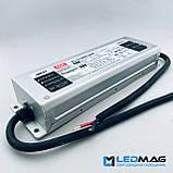 Блок питания для светодиодной ленты 24В 300Вт герметичный MEANWELL ELG-300-24. Блок питания 300W 24V, фото 6