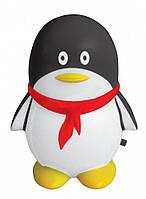 Ночник детский черный (светильник ночник черный) пингвин  4LED,Watc