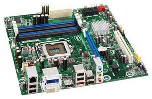 Материнская плата, INTEL, в ассортименте, сокет 1156 + ПОДАРОК Intel Core i3-530
