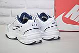 Чоловічі білі шкіряні кросівки в стилі Nike Air Max, фото 5