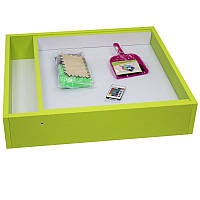 Детский световой планшет из ДСП салатовый