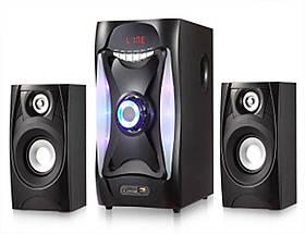 Потужні колонки акустична система 2.1 ear e-112