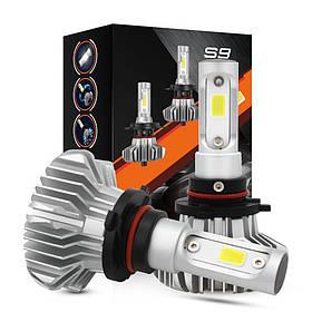 Світлодіодні LED автолампи для фар автомобіля S9 H4