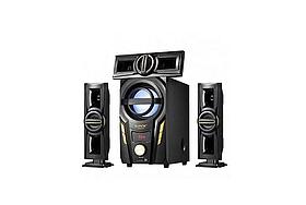 Акустична система комплект 3.1 DJACK E-703A (USB/FM-радіо/Bluetooth) 60 Вт