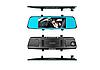 Автомобільний відеореєстратор дзеркало заднього виду Anytek T77 Full Hd Нічне бачення / Подвійний об'єктив, фото 4