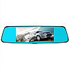 Автомобільний відеореєстратор дзеркало заднього виду Anytek T77 Full Hd Нічне бачення / Подвійний об'єктив, фото 5