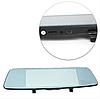 Автомобільний відеореєстратор дзеркало заднього виду Anytek T77 Full Hd Нічне бачення / Подвійний об'єктив, фото 9