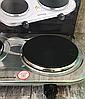 Плита электрическая двухконфорочная дисковая Rainberg RB-007 из нержавеющей стали 3500Вт, фото 3
