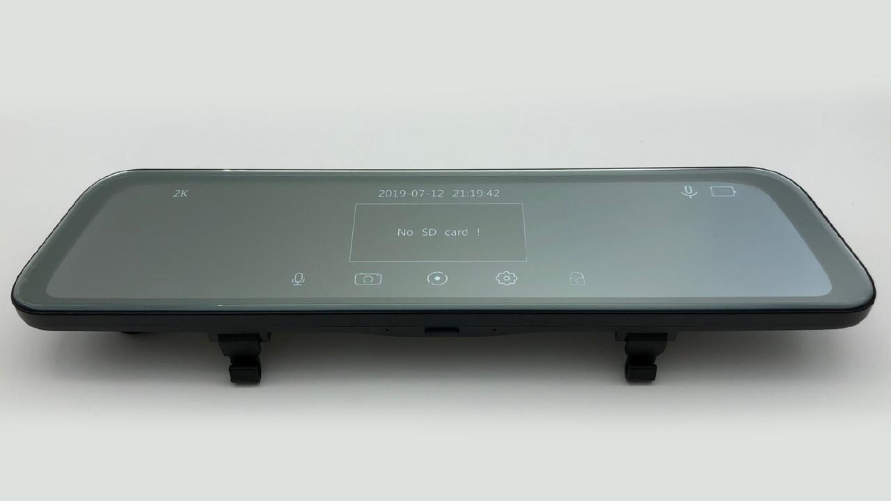 """Зеркало видеорегистратор K40 (Android) 1/8 (LCD 10"""", GPS)"""