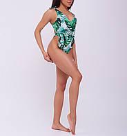 Женский пляжный купальник Asalart oversize Tropical Print
