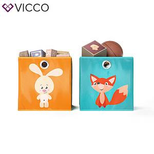 Ящики для хранения Vicco, 2 шт., зайчик, лисичка