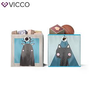 Ящики для хранения Vicco, 2 шт., лось, кот