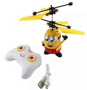 Вертолет Игрушка Летающий Миньон с пультом управления