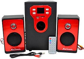 Комп'ютерні колонки з сабвуфером 2.1 AiLiang USBFM-T11C (2x8 Вт + 20 Вт)