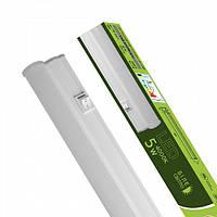 Світлодіодний EUROLAMP LED Світильник лінійний IP44 5W 4000K (T5)