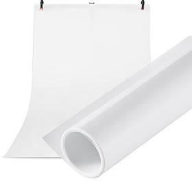 Фотофон виниловый (фон для фото предметной съемки, белый 120×200 см, ПВХ)