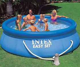 Надувний басейн intex 28132 з фільтр-насосом