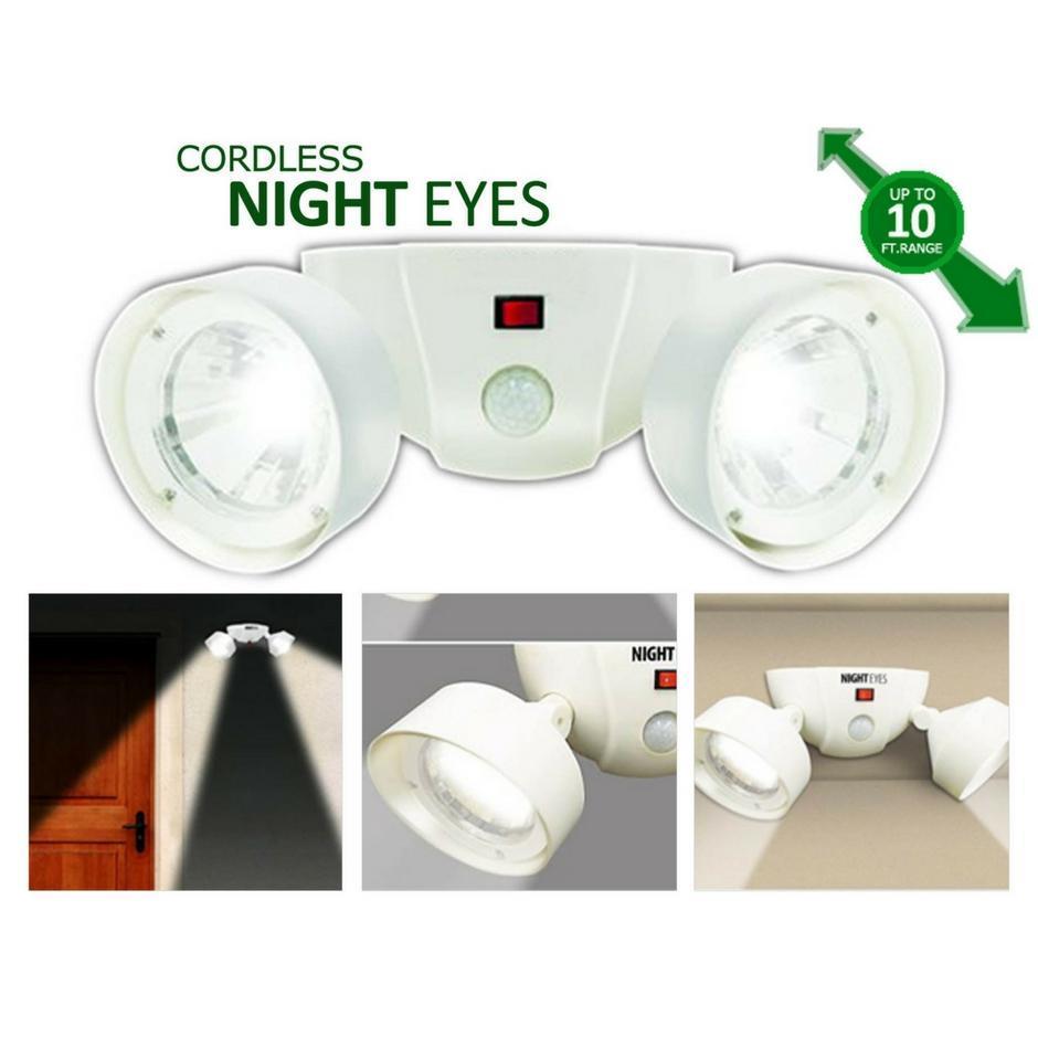 Світильник - нічні очі з датчиком руху