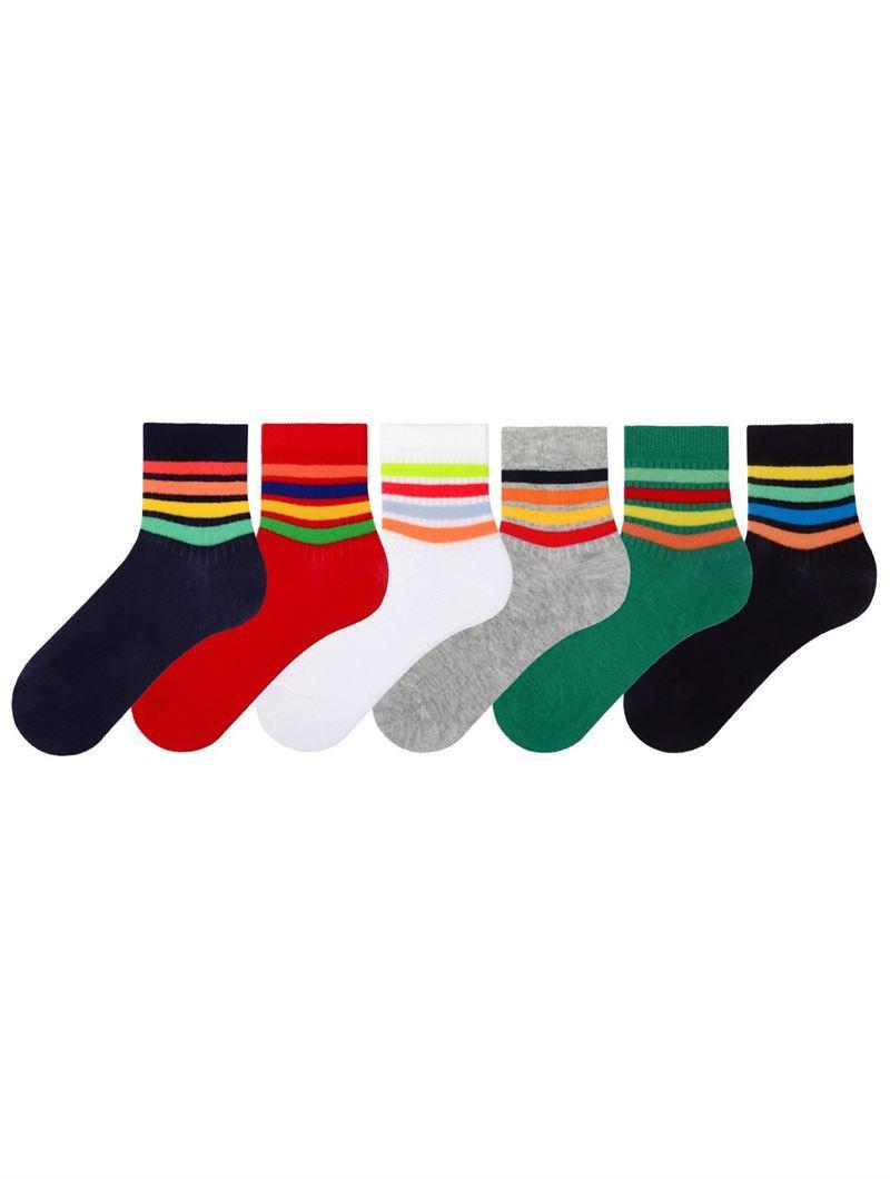 Набор 3 шт. Детские носки их хлопка с рисунком Bross