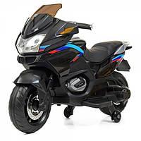 Детский мотоцикл на аккумуляторе Bambi M-4272EL-2 черный