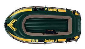 Двомісна Intex надувний човен 68346 Seahawk