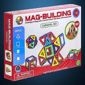 Магнітний конструктор Mag Building 28 pcs