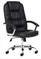 Офисное кресло материал EKO-кожа Черный цвет