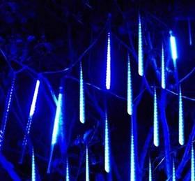 Гірлянда Тануть бурульки LED 50см 8шт ,синій колір