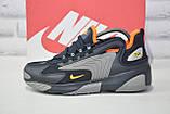Кросівки чоловічі в стилі Nike Zoom 2K, фото 3