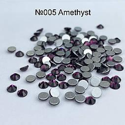 Стрази скляні Amethyst SS3 100 штук