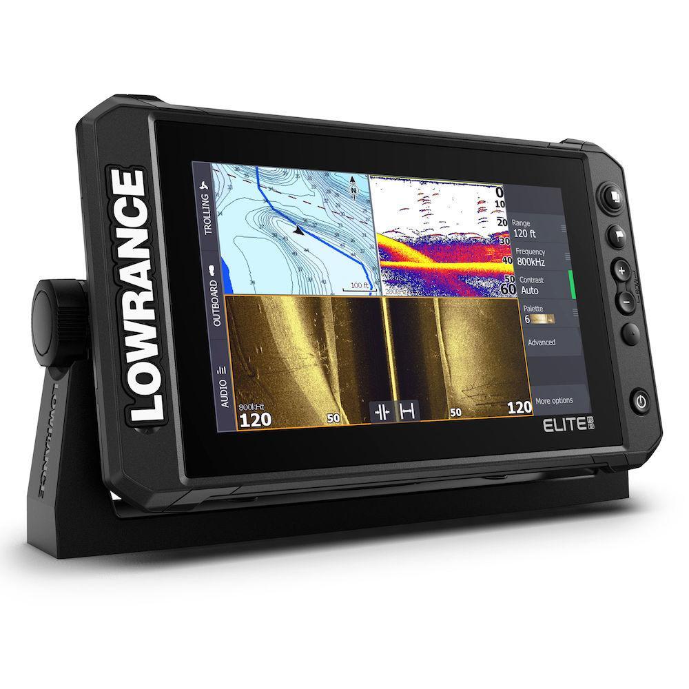 Ехолот Картплотер Lowrance Elite-9 FS Active Imaging 3in1 + Navionics Platinum