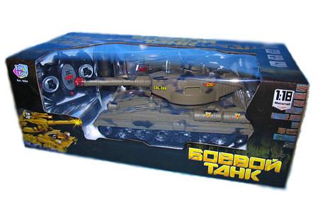 Радиоуправляемый танк Joy Toy 9354 для танкового боя, фото 2