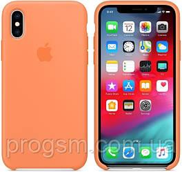 Чохол Silicone Case для iPhone XR OR Papaya