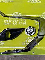 Страйп переднего бампера нижний правый Mitsubishi Outlander 2016- (6407A144)