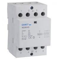 Контактор переменного тока NCH8-63/40 63А 4НО АС220/230В 50Гц