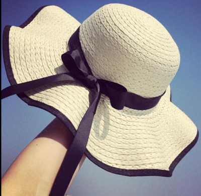 Женская пляжная летняя шляпа Orlanda milk