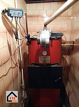 Приобретенный у нас и установленный твердотопливный котел Swag мощностью 10 кВт. Клиент Виктор Днепропетровская обл. г. Синельниково.