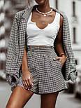 Стильний костюм жіночий з шортами, фото 3