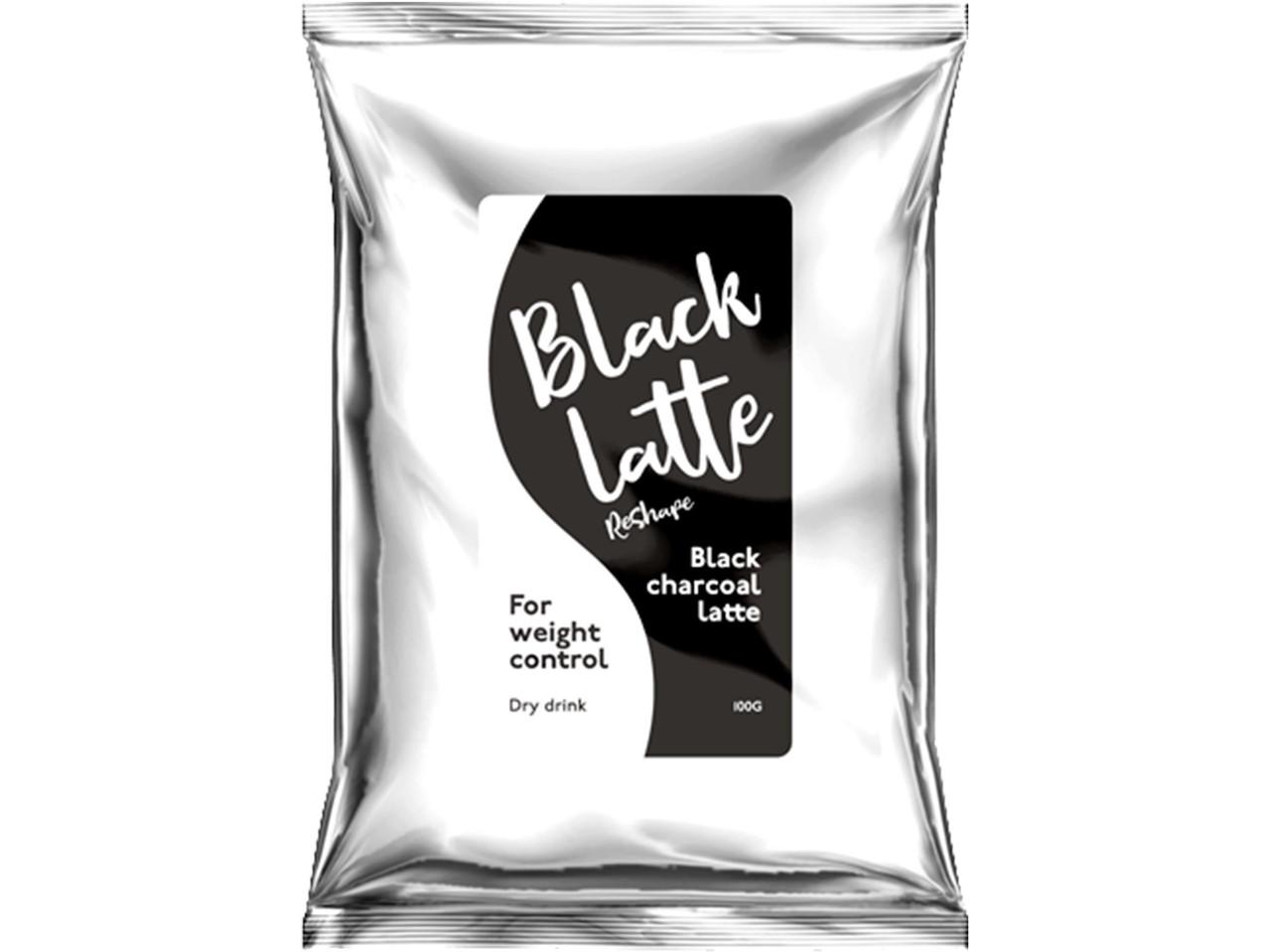 Угольный латте для похудения Black Latte