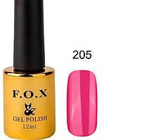 205 F.O.X gel-polish gold Pigment 12мл