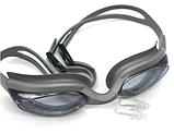 Очки для плавания с берушами в комплекте Sailto , код: G-2300, фото 3