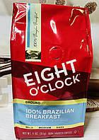 Молотый кофе Eight O'clock Бразильский завтрак