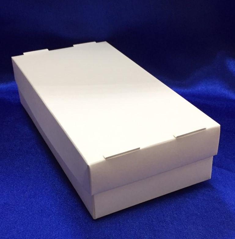 Бумажный Контейнер для еды на вынос белый  + крышка