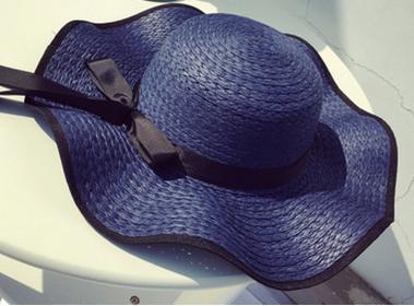 Женская пляжная летняя шляпа Orlanda blue