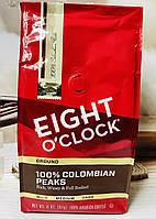 Молотый кофе Eight O'Clock Colombian Peaks
