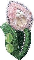 """БП-191 Набор для изготовления броши Crystal Art """"Тюльпан"""" , Код товара: 1065613"""